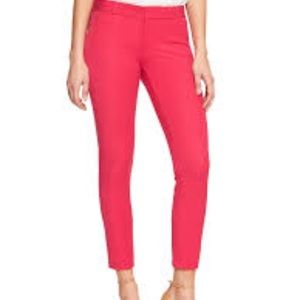 Banana Republic cropped skinny pants